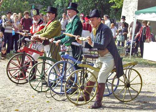 история на велосипеда колело за баланс възрастни състезание