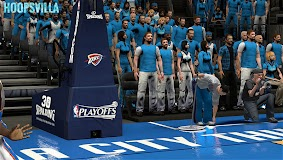 NBA 2k14 Stadium Mod : Playoff Edition - Oklahoma City Thunder - Chesapeake Energy Arena