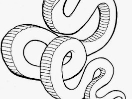 California King Snake Coloring Pages