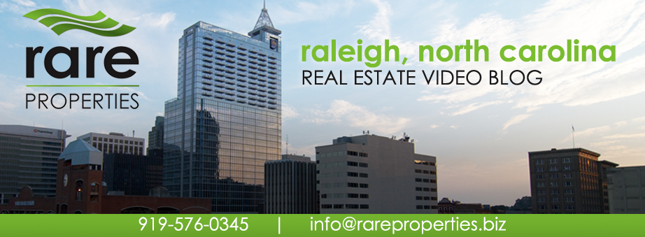 Raleigh, NC Video Blog with rare Properties