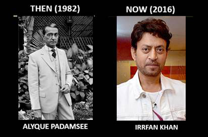 Irrfan Khan for the role of Jinnah