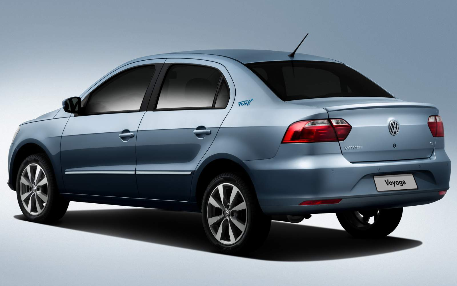 Novo VW Voyage G6 2015 - Comfortline