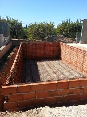 Piscinarte piscinas proceso de construcci n de una - Construccion piscinas paso paso ...
