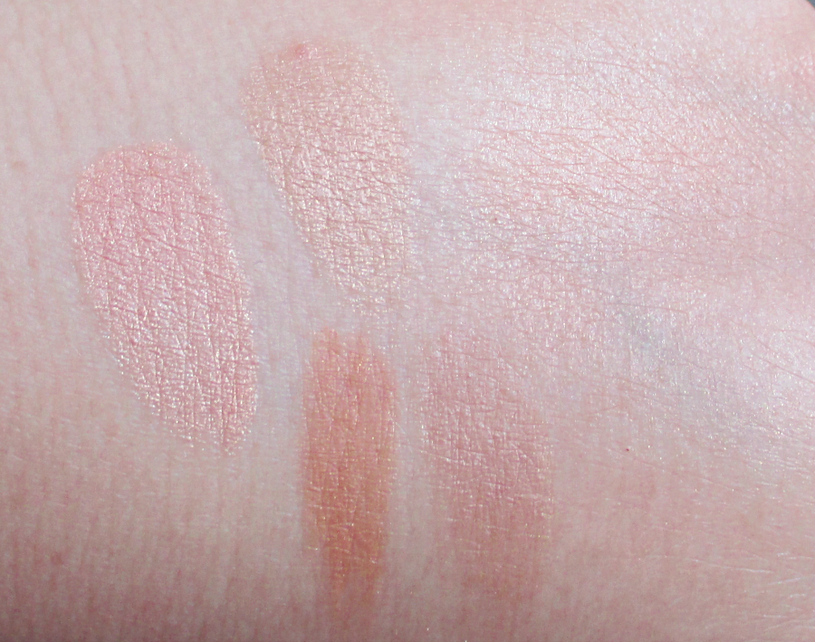 Sonia Kashuk Arabian Dreams Highlighter Swatches notesfrommydressingtable.com