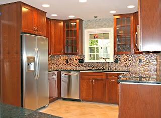 Penampakan Interior Dapur Rumah Minimalis