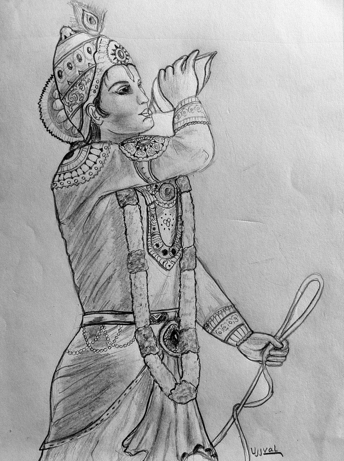 Ujjval Shah My Sketches..