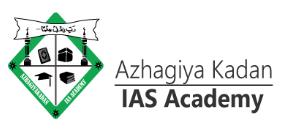 Azhagiya Kadan IAS Academy Chennai