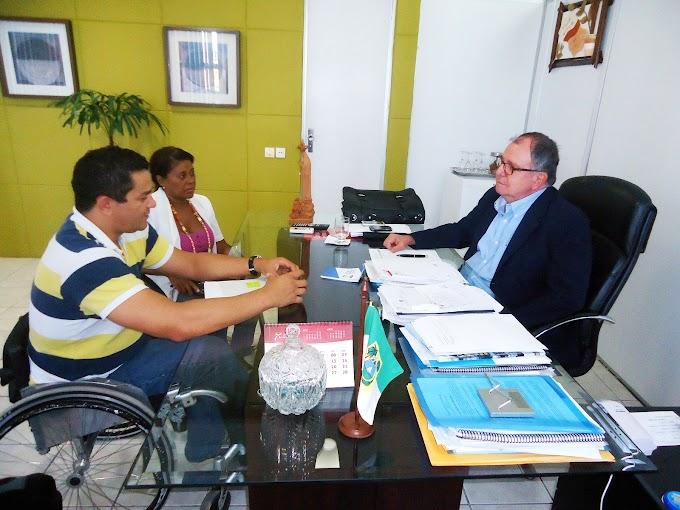 Basquete Paralímpico busca apoio da Sethas para participar de evento regional