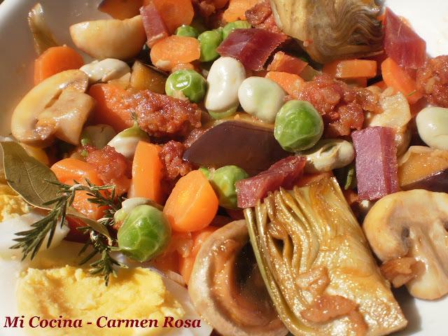 Menestra de verdura cocinar en casa es - Hacer menestra de verduras ...