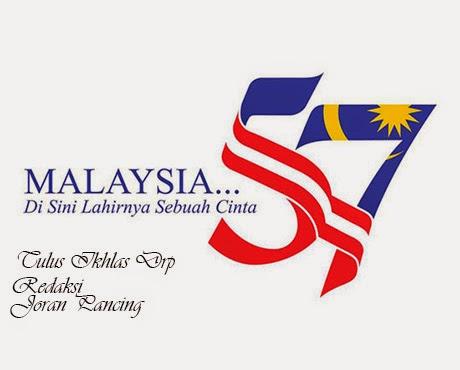 Selamat Menyambut Hari Kemerdekaan Ke-57
