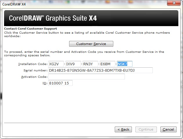 software crack corel draw x4