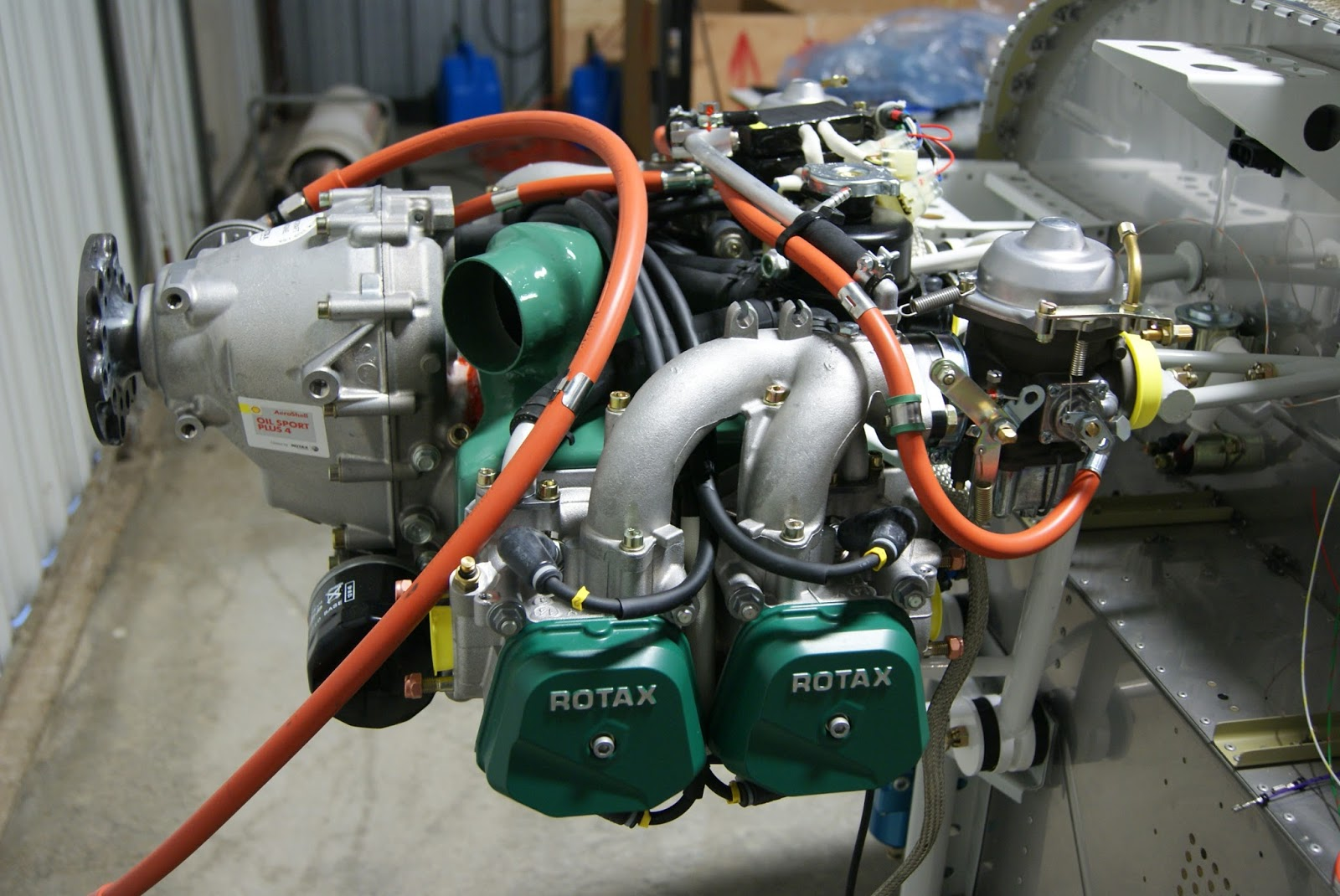 ROTAX 912 ULS ENGINE MOUNTING COMPLETED – Rotax 912 Engines Wiring