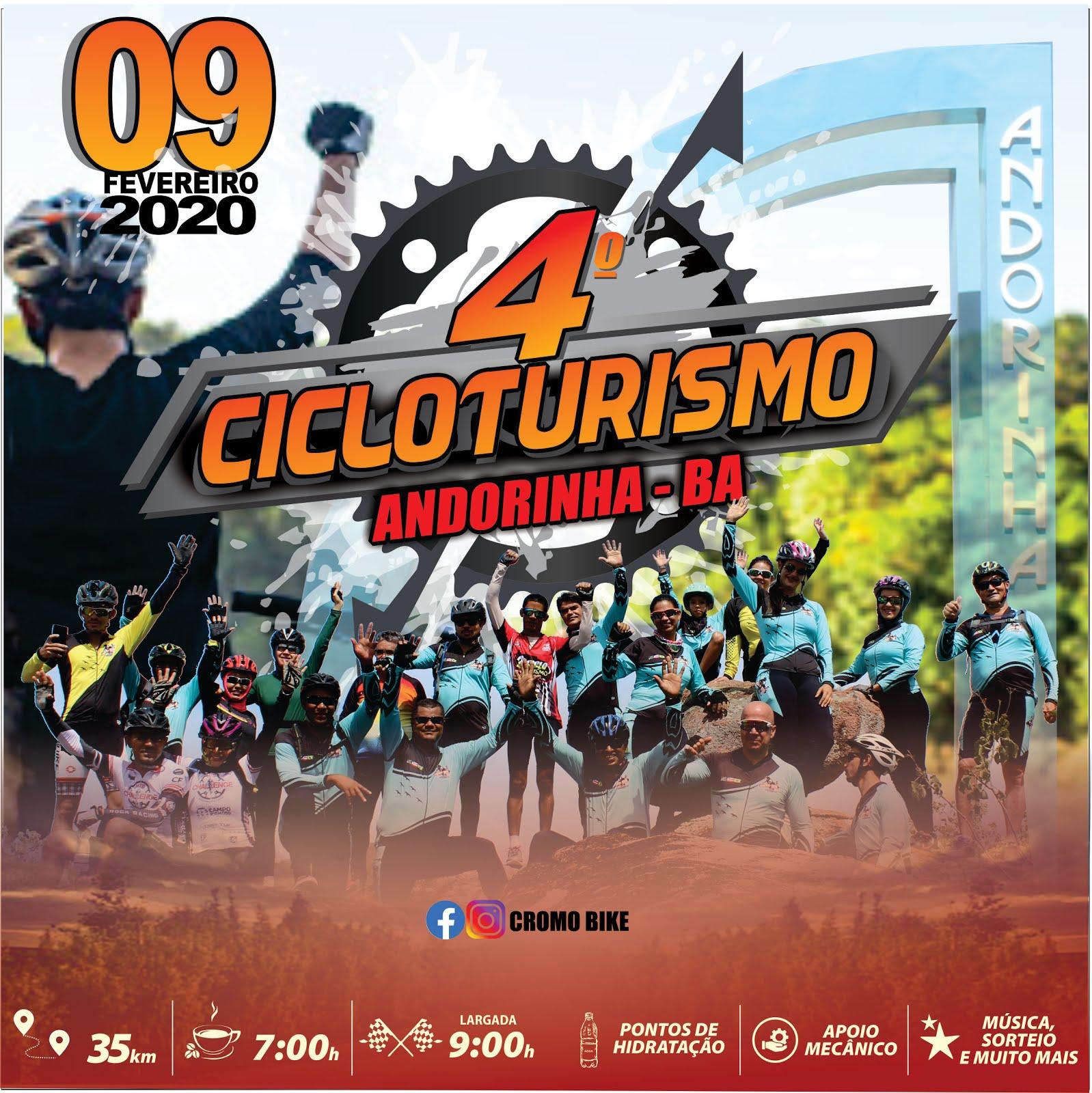 4º CICLOTURISMO DE ANDORINHA