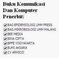 Buku Komunikasi dan Komputer Penerbit Epidemiologi, Mikrobiologi