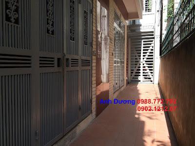 Mặt trước nhà giá rẻ ngõ 173 Hoàng Hoa Thám, Ba Đình, Hà Nội