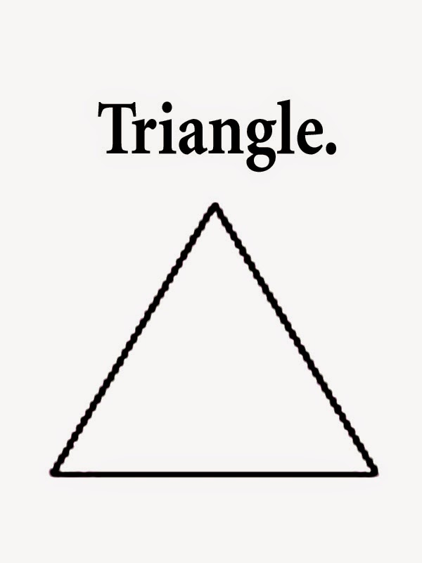 Lively image intended for printable triangles
