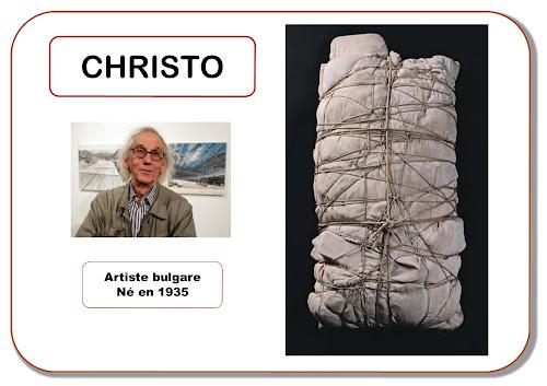 Christo - Portrait d'artiste en maternelle