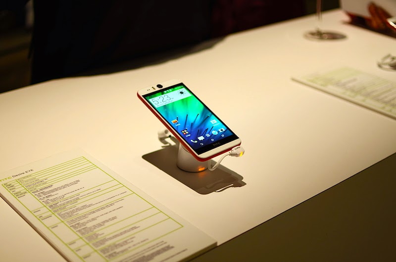 HTC Desire Eye 13MP Selfie Smartphone Hands-on