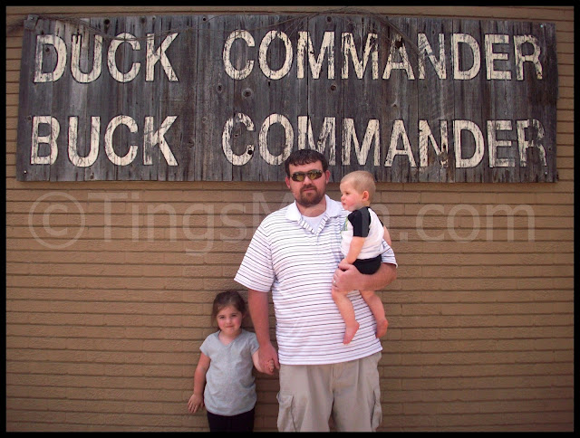 Visiting Duck Commander with @TingsMom
