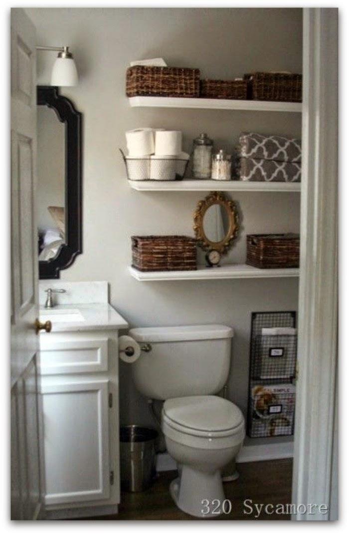 En casa de oly c mo maximizar el espacio en cuartos de - Como disenar un cuarto de bano pequeno ...