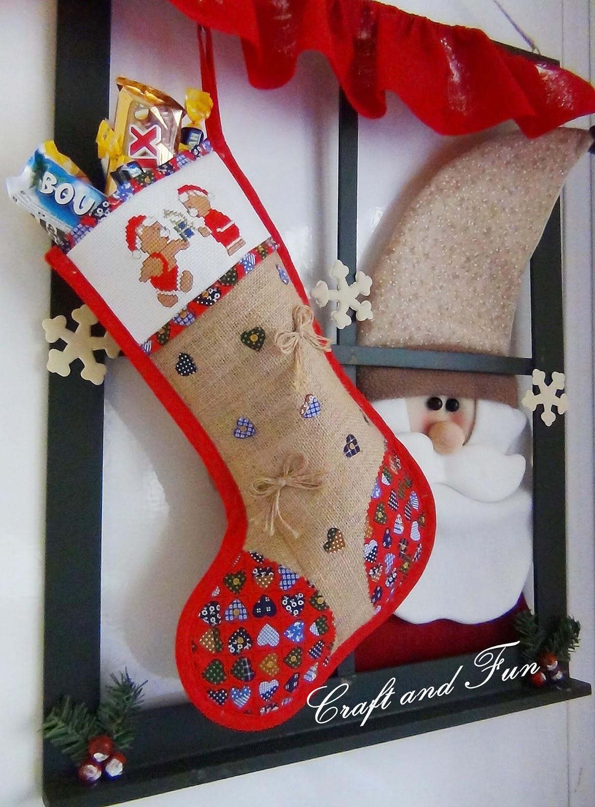 natale | riciclo creativo - craft and fun - Calze Della Befana Originali