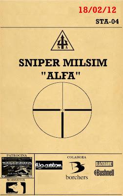 """SNIPER MILSIM """"ALFA"""" / """"BETA"""" 18 y 19 de Febrero SNIPERALFAX"""