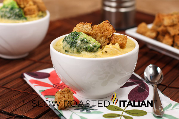 Broccoli Cheese Soup with Chicken and Rice is a scrumptious one pot ...