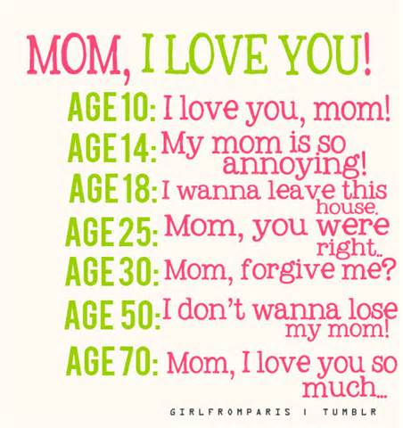 Happy Birthday Mom Quotes From Daughter Tumblr Funny