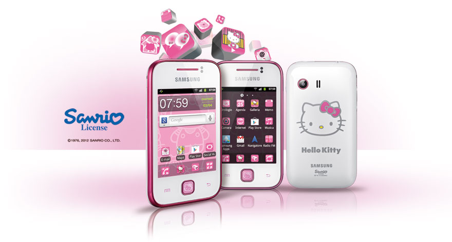 : The launch of Samsung GALAXY Y Hello Kitty Limited Edition event