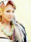 Hyoyeon Rainbow Hair