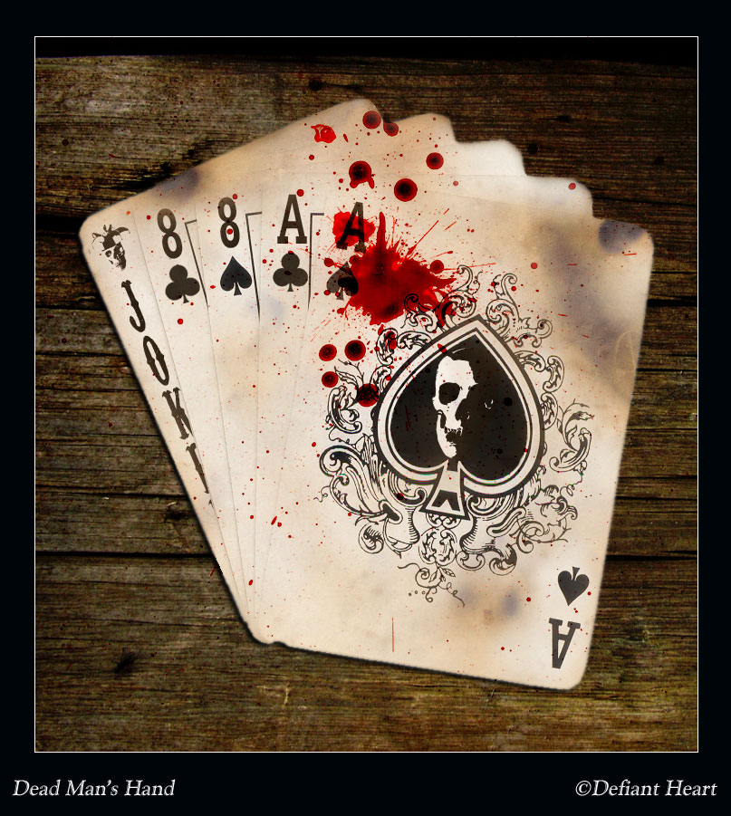 dead mans hand aces and eights images of love