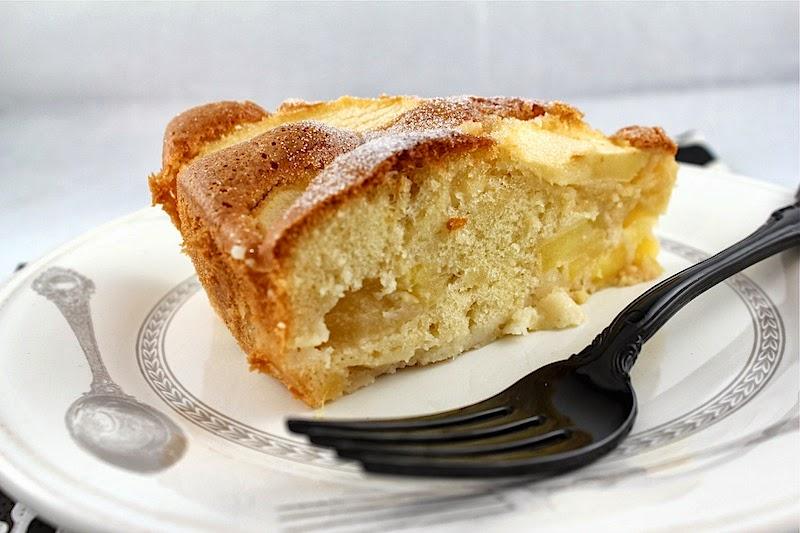 French Apple Cake French apple cake