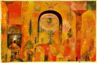 Amb l'àguila (Paul Klee)