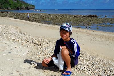 沖縄旅行 体験/観光 海 しっくい シーサー 夏休み/宿題 自由研究