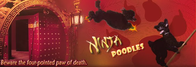 NINJA POODLES!