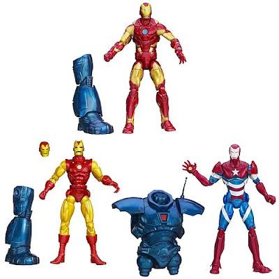 Hasbro Iron Man 3 Marvel Legends Series 1 figures