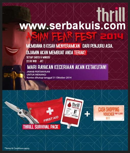 Kuis Asian Fear Fest 2014 Berhadiah Menarik