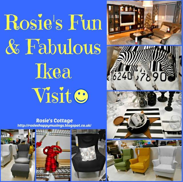 Roses Fun & Fabulous Ikea Visit