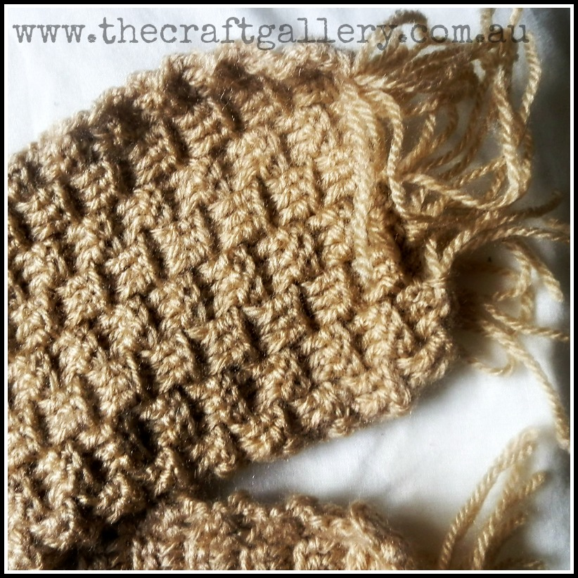 How To Do A Basket Weave Knit : The craft gallery basket weave scarf crochet project