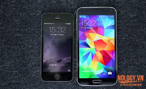 Samsung Galaxy S5 Nhật Bản