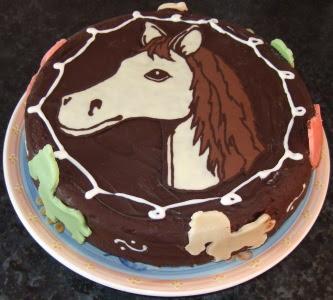 M lanie cuisine g teau cheval - Decoration gateau cheval ...