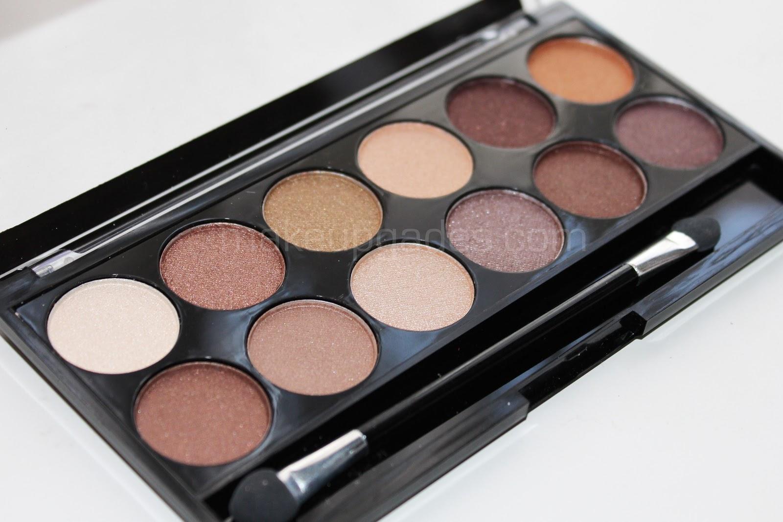 Makeup gades eyeshadow palette heaven and earth mua - Paleta de colores neutros ...