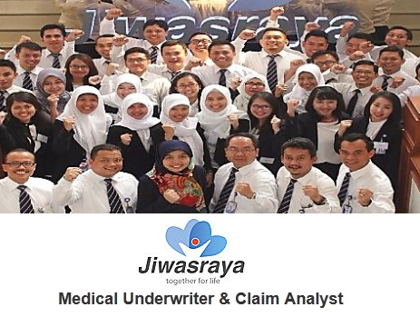 Loker Kedokteran, Lowongan Asuransi, Info kerja S1, Karir BUMN Jiwasraya