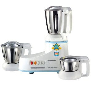 Amazon : Buy Panasonic MX-AC300S-H 550-Watt 3-Jar Super Mixer Grinder Rs. 2647 only