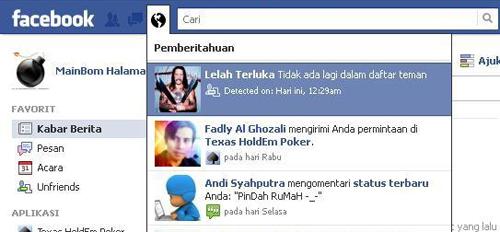 Cara Mengetahui Siapa Yang Berhenti Berteman Dengan Anda Di Facebook