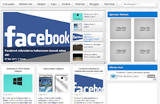Blogger Portal Tema