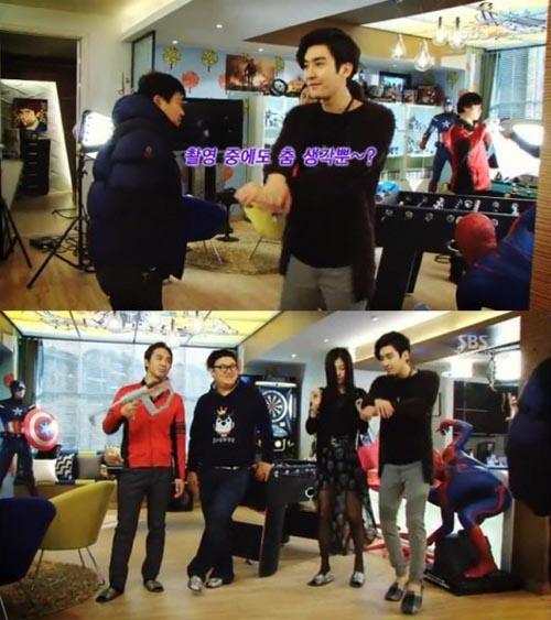 Siwon Super Junior Gangnam Style