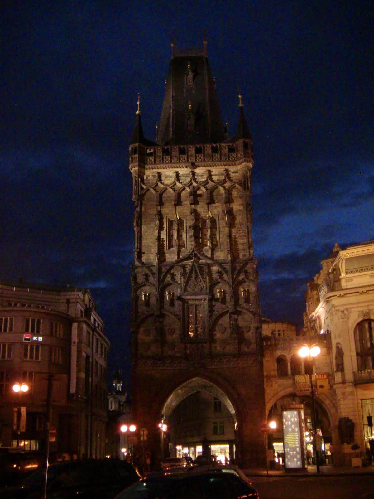 La tour poudrière