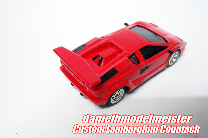 danielh modelmeister custom hotwheels lamborghini countach. Black Bedroom Furniture Sets. Home Design Ideas