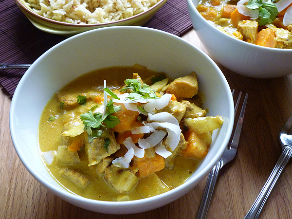 Chicken, Pineapple and Coconut Curry